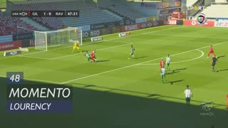 Gil Vicente FC, Jogada, Lourency aos 48'