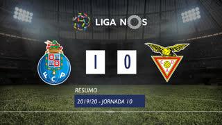 Liga NOS (10ªJ): Resumo FC Porto 1-0 CD Aves