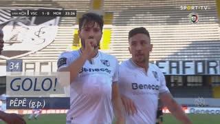 GOLO! Vitória SC, Pêpê aos 34', Vitória SC 1-0 Moreirense FC