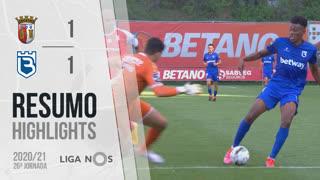 Liga NOS (26ªJ): Resumo SC Braga 1-1 Belenenses SAD