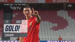 GOLO! SL Benfica, Darwin aos 3', SL Benfica 1-0 FC Famalicão
