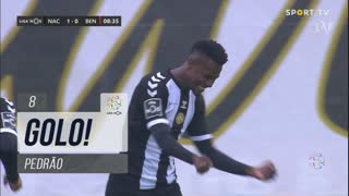 GOLO! CD Nacional, Pedrão aos 8', CD Nacional 1-0 SL Benfica
