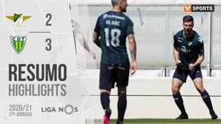 I Liga (27ªJ): Resumo Moreirense FC 2-3 CD Tondela