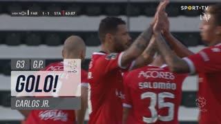 GOLO! Santa Clara, Carlos Jr. aos 63', SC Farense 1-1 Santa Clara
