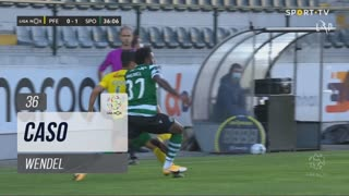 Sporting CP, Caso, Wendel aos 36'