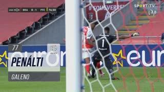 SC Braga, Penálti, Galeno aos 77'