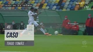 Sporting CP, Caso, Tiago Tomás aos 49'