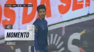 Gil Vicente FC, Jogada, Abbas aos 42'