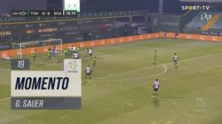 Boavista FC, Jogada, G. Sauer aos 19'
