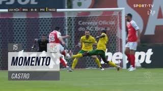SC Braga, Jogada, Castro aos 15'