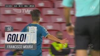 GOLO! SC Braga, Francisco Moura aos 50', SL Benfica 0-2 SC Braga