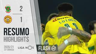 I Liga (22ªJ): Resumo Flash FC P.Ferreira 2-1 CD Nacional