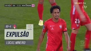 Gil Vicente FC, Expulsão, Lucas Mineiro aos 90'+4'