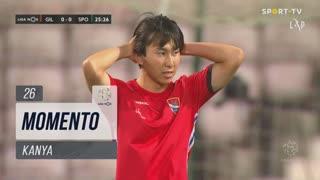 Gil Vicente FC, Jogada, Kanya aos 26'