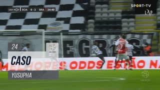 Boavista FC, Caso, Yusupha aos 24'