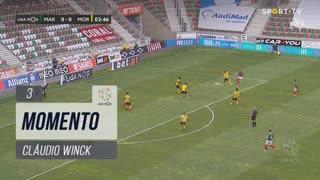 Marítimo M., Jogada, Cláudio Winck aos 3'
