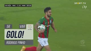GOLO! Marítimo M., Rodrigo Pinho aos 58', CD Nacional 1-1 Marítimo M.