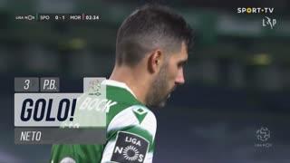 GOLO! Moreirense FC, Neto (p.b.) aos 3', Sporting CP 0-1 Moreirense FC