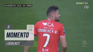 Gil Vicente FC, Jogada, Lourency aos 8'