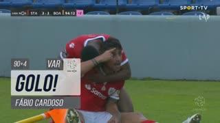 GOLO! Santa Clara, Fábio Cardoso aos 90'+4', Santa Clara 3-3 Boavista FC