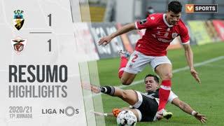 Liga NOS (17ªJ): Resumo SC Farense 1-1 Santa Clara