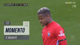 Gil Vicente FC, Jogada, Y. Baraye aos 77'