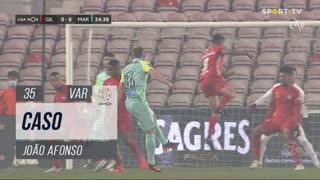 Gil Vicente FC, Caso, João Afonso aos 35'