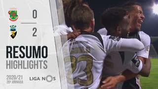 Liga NOS (28ªJ): Resumo FC P.Ferreira 0-2 SC Farense