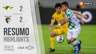 Liga NOS (15ªJ): Resumo Moreirense FC 2-2 Portimonense