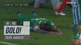 GOLO! Gil Vicente FC, Filipe Augusto (p.b.) aos 18', Gil Vicente FC 1-0 Rio Ave FC