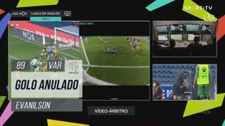 FC Porto, Golo Anulado, Evanilson aos 89'