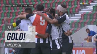 GOLO! Portimonense, Anderson aos 74', Marítimo M. 1-2 Portimonense