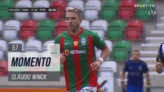 Marítimo M., Jogada, Cláudio Winck aos 57'