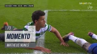 Sporting CP, Jogada, Matheus Nunes aos 73'