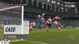 Sporting CP, Caso, Z. Feddal aos 7'