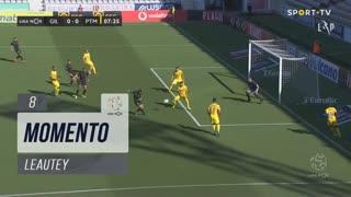 Gil Vicente FC, Jogada, Leautey aos 8'