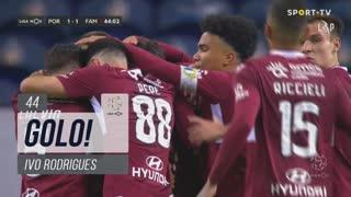 GOLO! FC Famalicão, Ivo Rodrigues aos 44', FC Porto 1-1 FC Famalicão