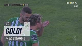 GOLO! Rio Ave FC, Fábio Coentrão aos 49', Rio Ave FC 1-1 FC P.Ferreira