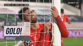 GOLO! SL Benfica, Rodrigo (p.b.) aos 59', Gil Vicente FC 0-1 SL Benfica