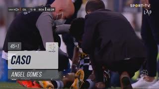 Boavista FC, Caso, Angel Gomes aos 45'+1'
