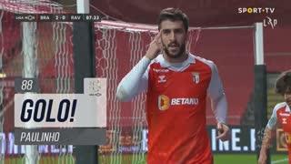 GOLO! SC Braga, Paulinho aos 88', SC Braga 3-0 Rio Ave FC