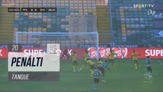 FC P.Ferreira, Penálti, Tanque aos 20'