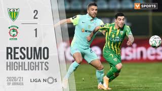 Liga NOS (19ªJ): Resumo CD Tondela 2-1 Marítimo M.