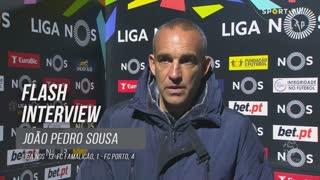 João Pedro Sousa lamentou falhas individuais na sua equipa