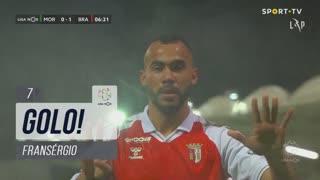 GOLO! SC Braga, Fransérgio aos 7', Moreirense FC 0-1 SC Braga