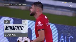Gil Vicente FC, Jogada, Lourency aos 84'