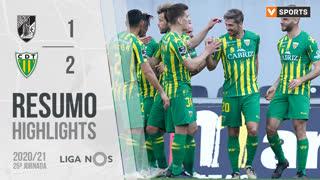 Liga NOS (25ªJ): Resumo Vitória SC 1-2 CD Tondela