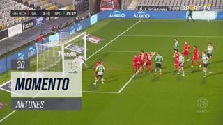 Sporting CP, Jogada, Antunes aos 30'