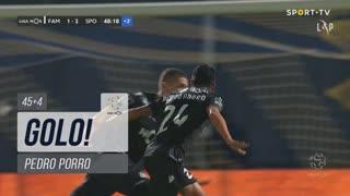 GOLO! Sporting CP, Pedro Porro aos 45'+4', FC Famalicão 1-2 Sporting CP
