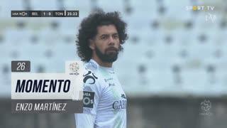 CD Tondela, Jogada, Enzo Martinez aos 26'